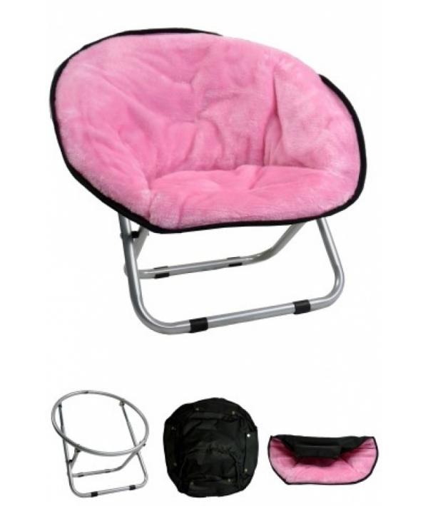 "Стул ""VIP ложе"", 50*50*40см, розовый (Relax chair Pink) 260004"
