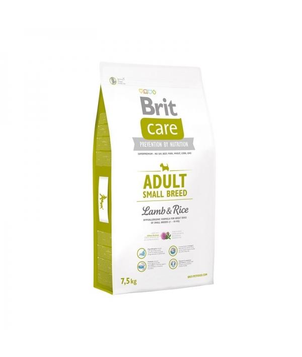 Care для собак малых пород до 10кг с ягненком и рисом (Adult Small Breed Lamb&Rice)