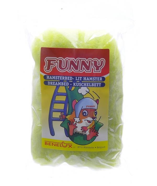 Кроватка для хомяков зеленая (Dreambed green funny) 3442