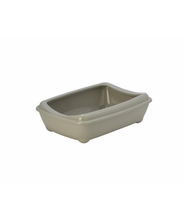 Туалет – лоток средний с рамкой Artist Medium + rim, 42х30х12см, теплый серый (arist – o – tray + rim 42cm medium) MOD – C132 – 330 – B.