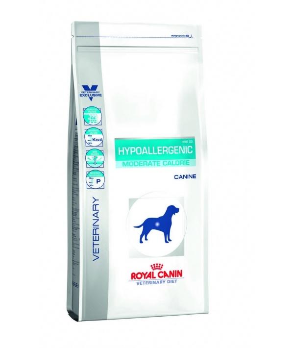 Для собак с пищевой аллергией низкокалорийный (HYPOALLERGENIC HME 23 MODERATE CALORIE) 630140