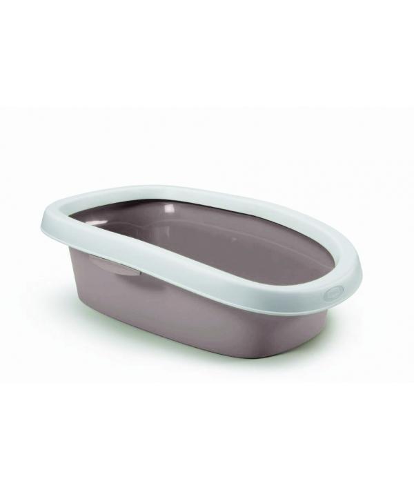 Туалет Sprint – 20 с рамкой, пудровый, 39*58*17 (TOILETTE SPRINT 20 CIPRIA/BIANCO) 96569