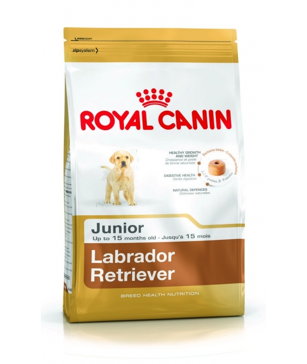 Для щенков Лабрадора: до 15 мес. (Labrador Retriever junior 33) 349030/ 349130