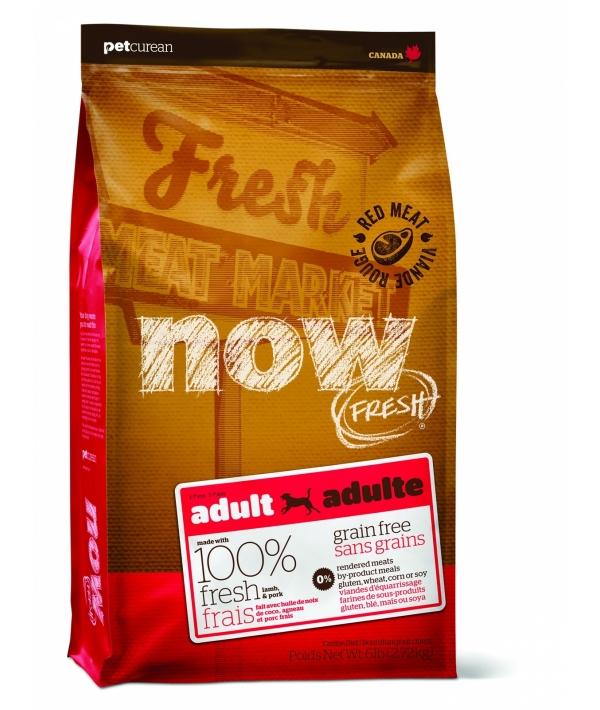Беззерновой для взрослых собак со свежим мясом ягненка (Grain Free Red Meat Adult Recipe DF 24/16)