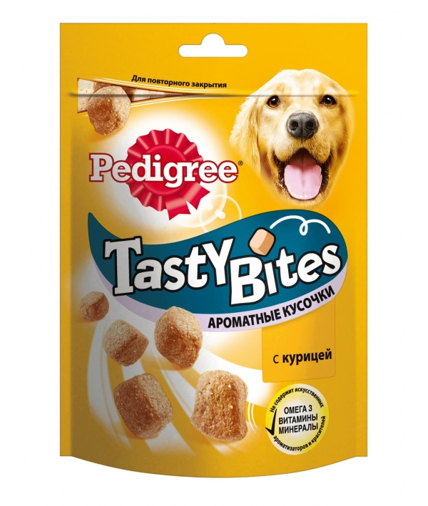 Лакомство для собак ароматные кусочки с курицей 10183058
