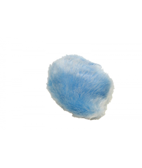 1шт. Мячик меховой для кошек, 7см (2411)