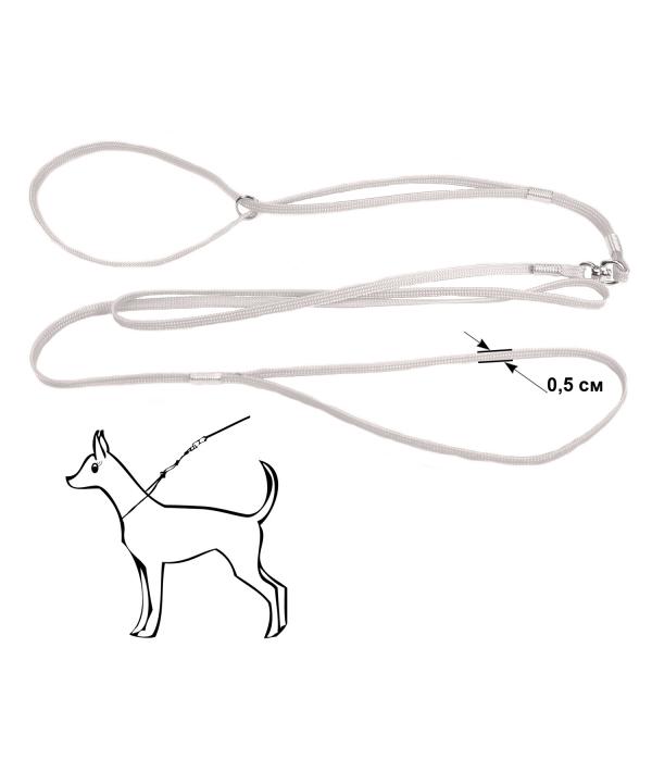 Ринговка белая, капрон, 5мм (421101)