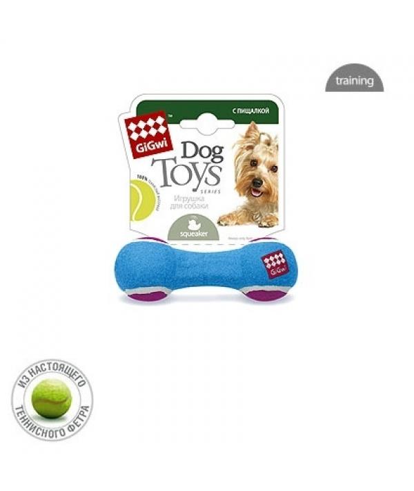 Игрушка для собак Гантель с пищалкой Малая (75006)50084