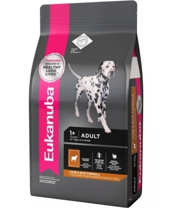 Для взрослых собак всех пород с ягненком и рисом 10129545