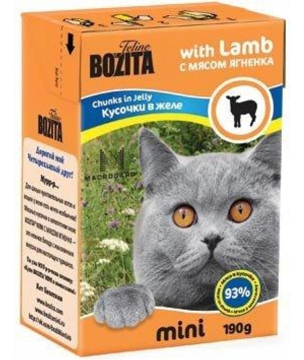 Mini Кусочки в желе для кошек – ягненок (Lamb)