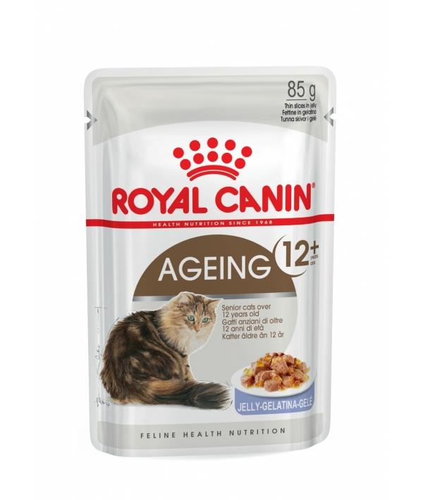 Кусочки в желе для кошек старше 12 лет (Ageing+12) 788001