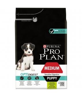 Для щенков с чувствительным пищеварением с ягненком (Puppy) 12278111/12350210
