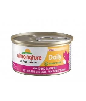 """Консервы нежный мусс для кошек """"Меню с Тунцом и Лососем"""" (Daily Menu – mousse Tuna and Salmon) 149"""