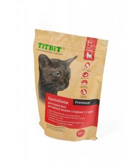 Сухой корм для активных кошек с цыпленком (9192)