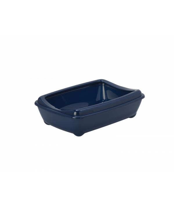Туалет – лоток средний с рамкой Artist Medium + rim, 42х30х12см, черничный (arist – o – tray + rim 42cm medium) MOD – C132 – 331 – B.