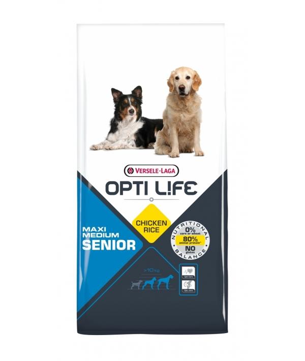 Для пожилых собак с курицей (Opti Life Senior Medium & Maxi) 431158
