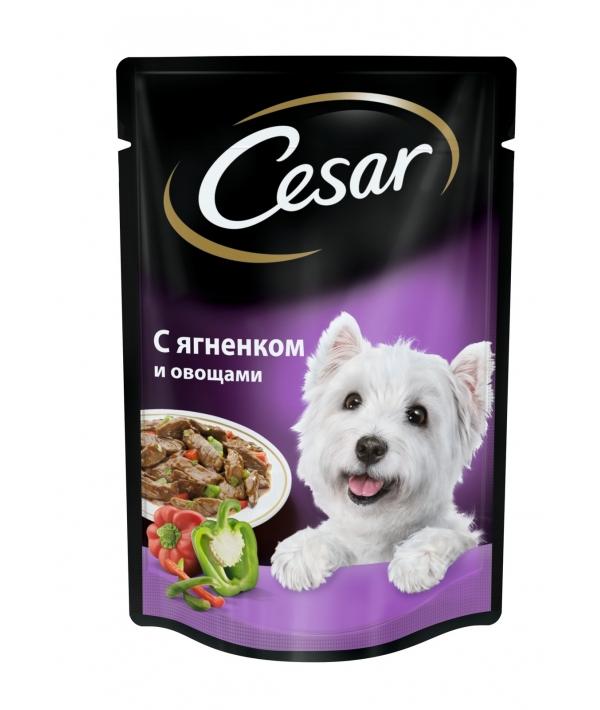 Паучи для собак с ягненком и овощами 7481