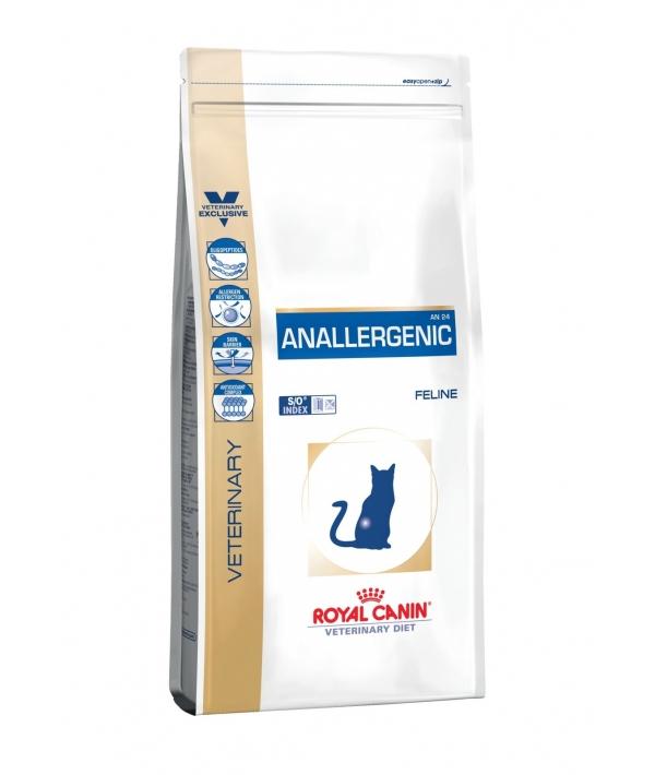 Для кошек при пищ.аллергии с острой непереносимостью (Anallergenic) 756020