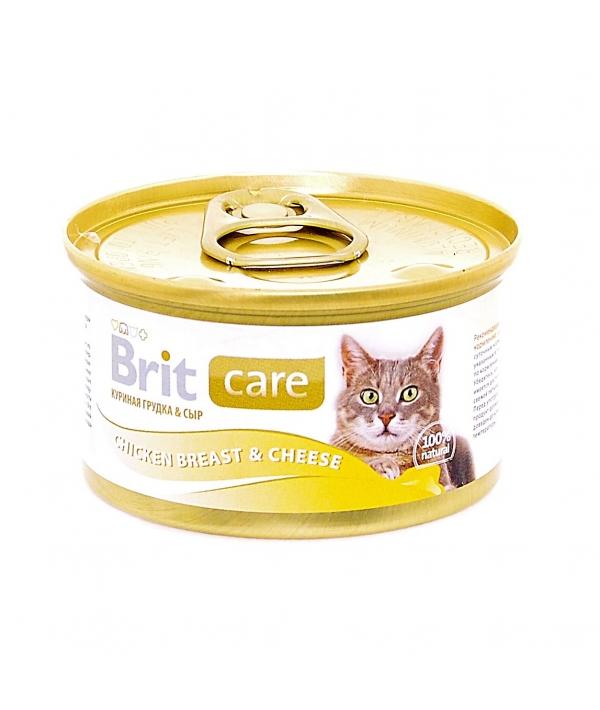 Консервы для кошек с куриной грудкой и сыром (Chicken Breast& Cheese) 100059