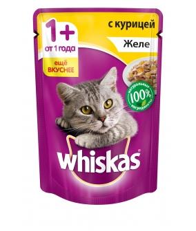 Паучи для кошек желе с курицей 10137274