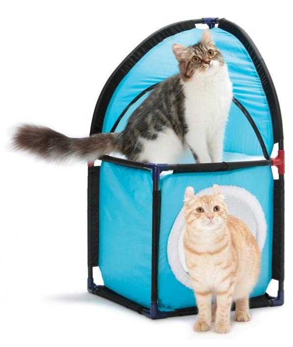 """Домик для кошек: Место встречи.""""Kitty Corner"""": 72*36*36см, флис (sp0232)"""