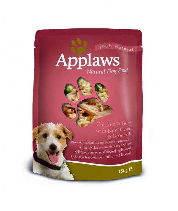 Паучи для Собак с Курицей, Говядиной и овощным ассорти (Dog Chicken & Beef – Veg Pouch) 9002CE – A