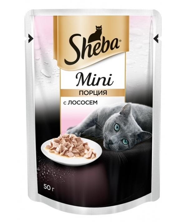 Паучи для кошек мини – порция с лососем 10170433