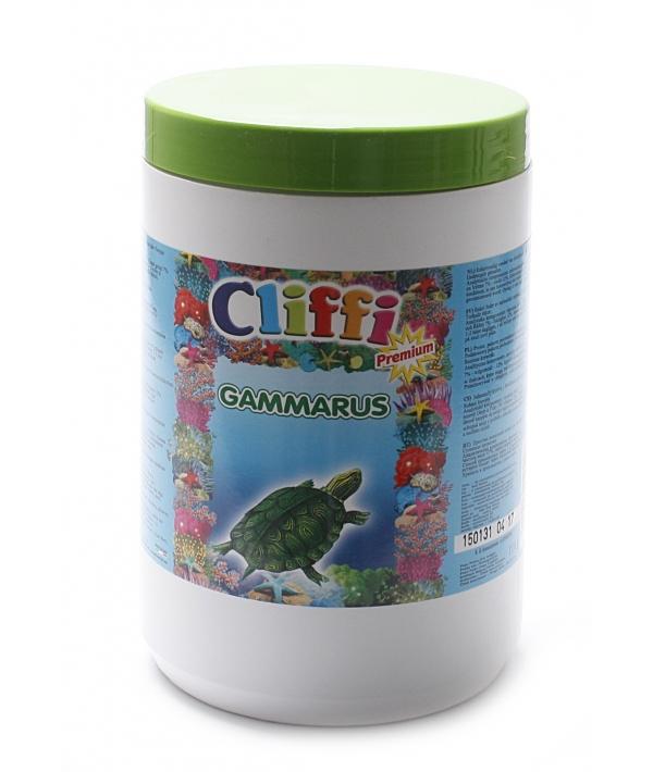 Для черепах, большие сушеные креветки, 1000мл (Gambabig) PCAA309