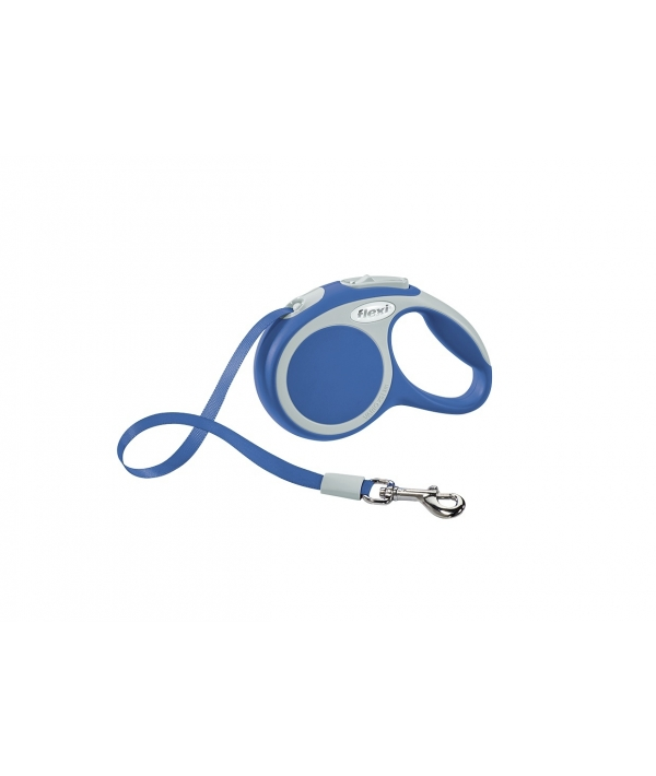 Рулетка – ремень для собак до 12кг, 3м, голубая (Vario XS tape 3m blue)