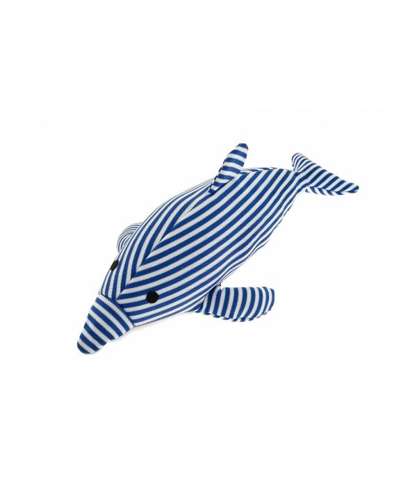 """Игрушечный дельфин """"Полосатик"""" не тонущий 17X39 см (DELFINO OCEAN GALLEGGIANTE 17X39CM) TP473"""