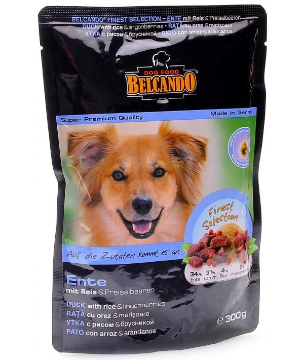 Консервы для собак с Уткой (34%), Ягненком (31%), рисом (4%) и брусникой (2%) (паучи) 511505