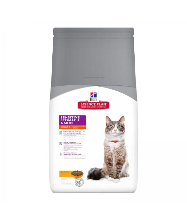Для кошек с чувств. желудком на яйце и рисе (Sensitive Stomach) 8906M