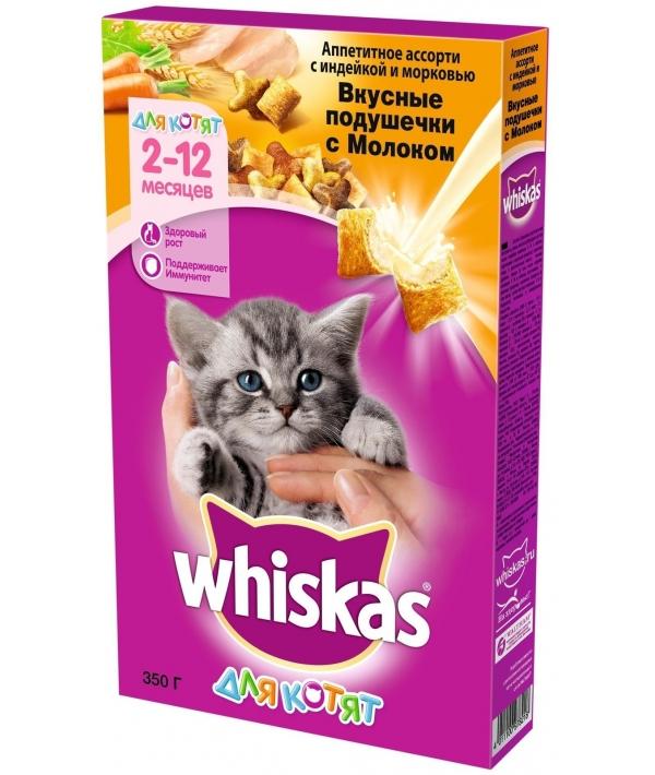 Сухой корм для котят с молоком, индейкой и морковью 10116570