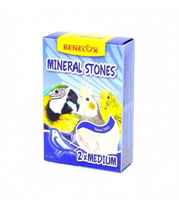 """Минеральный комплекс для птиц """"Большие Камешки"""", 2 шт (Benelux mineral stones 2 x medium) 16357"""