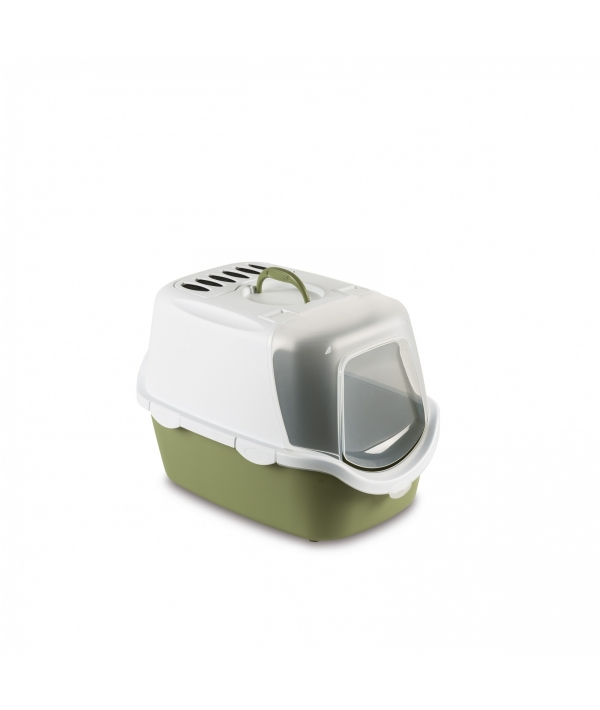 Туалет – Домик Cathy Easy Clean с угольным фильтром, зеленый, 56*40*40см (98607)