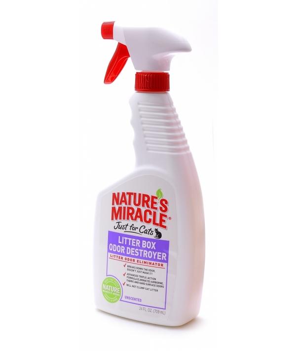 Спрей – Уничтожитель запахов в кошачьих туалетах (Box Odor Destroyer), enm5552