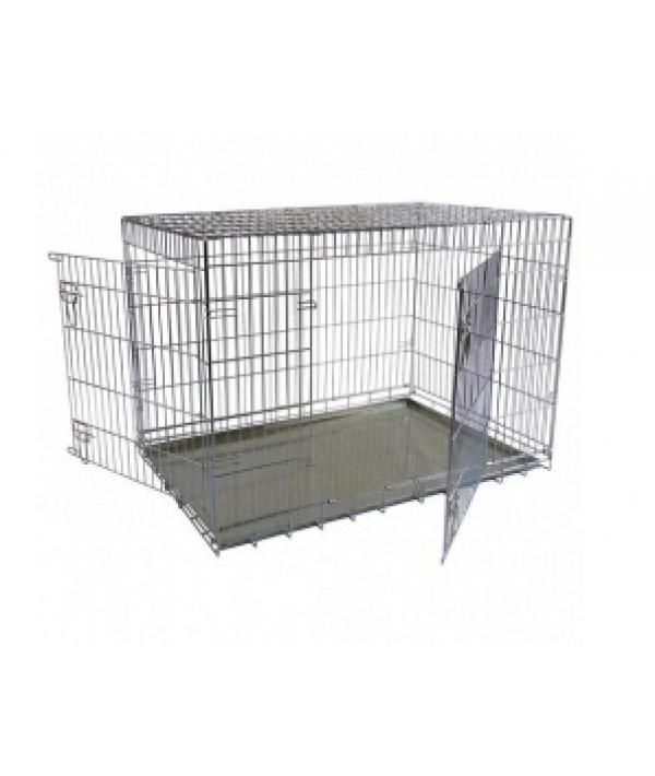 Клетка металлическая с 2 дверками, 118*78*85см (Wire cage 2 doors) 150218