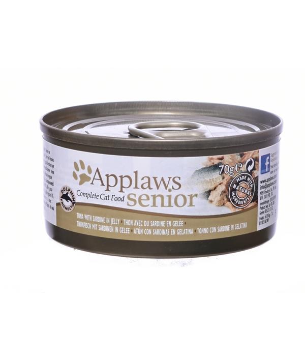 Кусочки в желе для Пожилых кошек с Тунцом и Сардинками (Senior Cat Tuna with Sardine in Jelly) 1031CE – A