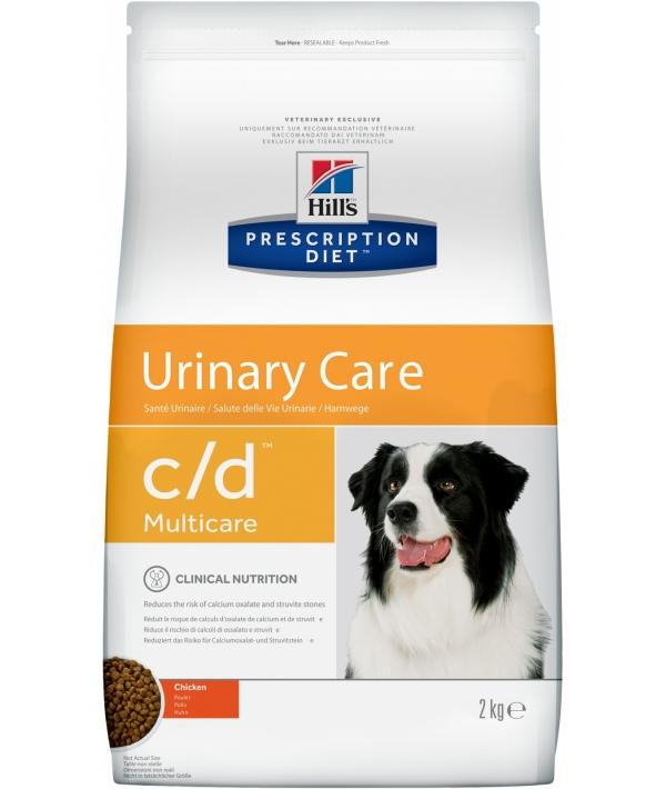 C/D (СиДи) для собак От мочекамен. болезни, струвиты (Urinary) 8654M