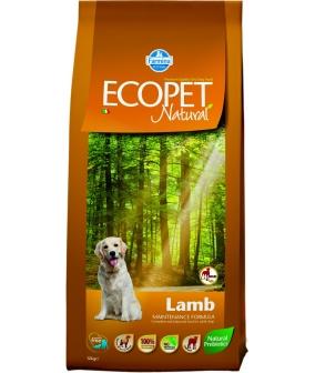 Ecopet Сухой корм для собак крупных пород с ягненоком 9019