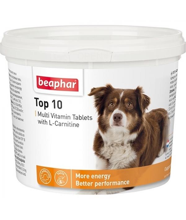 Витамины для собак с L – карнитином (Top 10 for Dogs), 180шт. (12542)