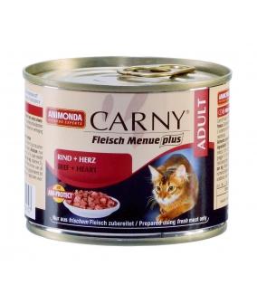 Консервы для кошек с говядиной и сердцем (Carny Adult) 83495/001/83704