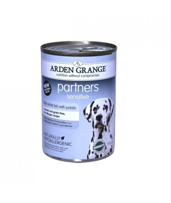 Консервы для собак с белой рыбой и картофелем (Sensitive, Fish & Potato) AG825016