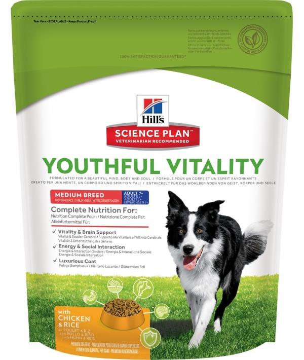 Для пожилых собак 7+ (Youthful Vitality) 10989N