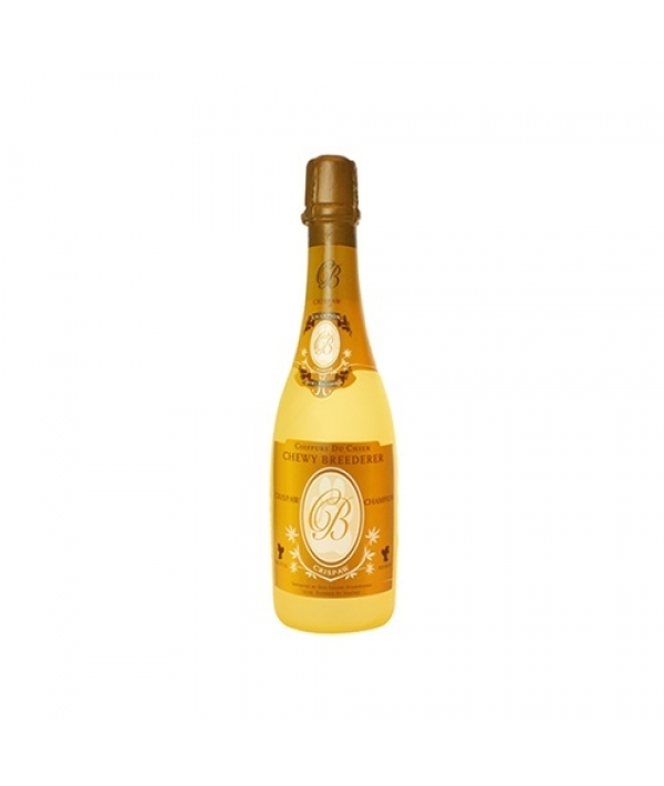 """Виниловая игрушка – пищалка для собак Бутылка шампанского """"Хрустальные лапки"""" (Wine Bottle Crispaw) SS – WB – CP"""