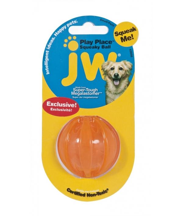 """Игрушка для собак мячик """"Заводной писк"""", 5см (JW Pet SQUEAKY BALL SMALL) 43605"""