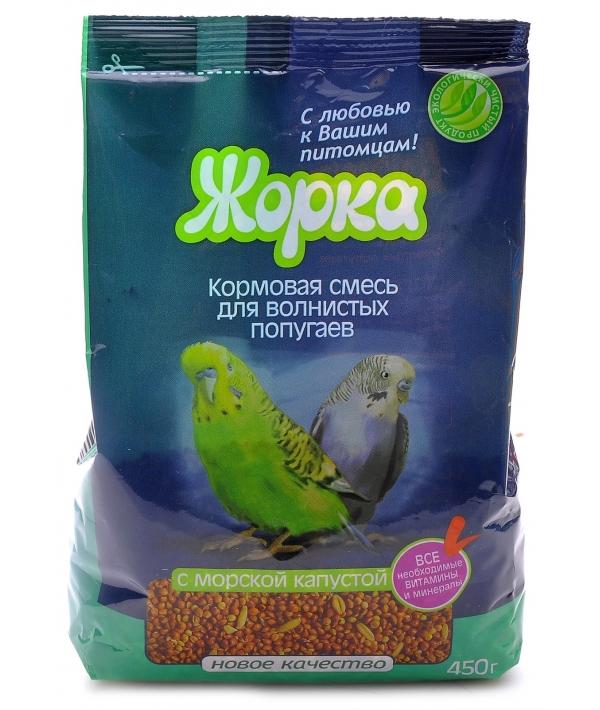 Lux для волнистых попугаев с Морской капустой (пакет)