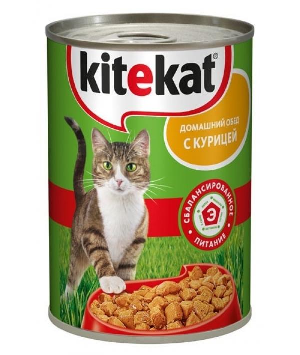 Консервы для кошек с курицей 6530