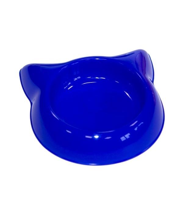 """Миска """"Кошка"""" пластиковая, 16см, 250мл (2233)"""