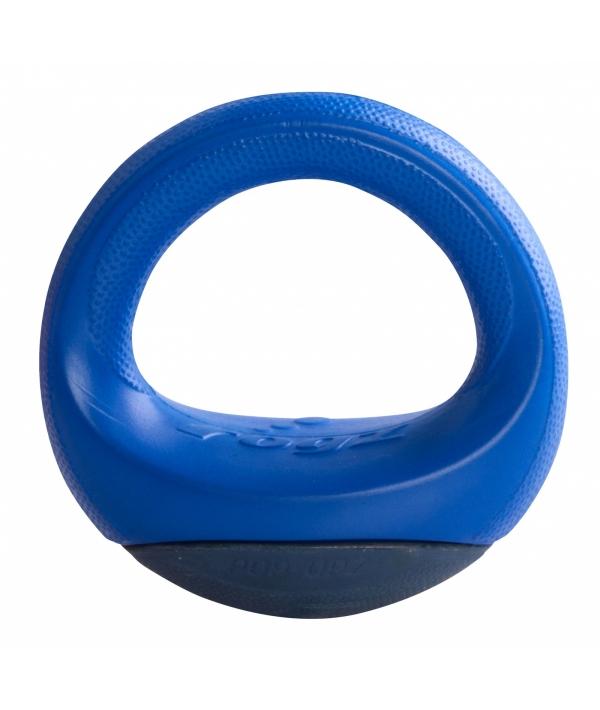 Игрушка для собак кольцо – неваляшка Pop – Upz, малое/среднее, синий (Rogz Pop – Upz Blue Small/Medium) RPU02B